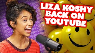 Liza Koshy On Coming Back to YouTube, What Makes Her Happy Now & Being Enough