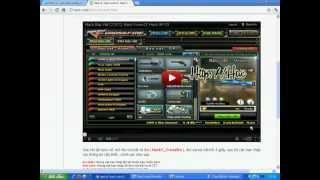 web lừa đảo của xạ thủ CF