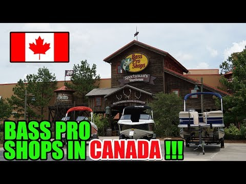 Bass Pro Shops Canada  - Where Are They Located?