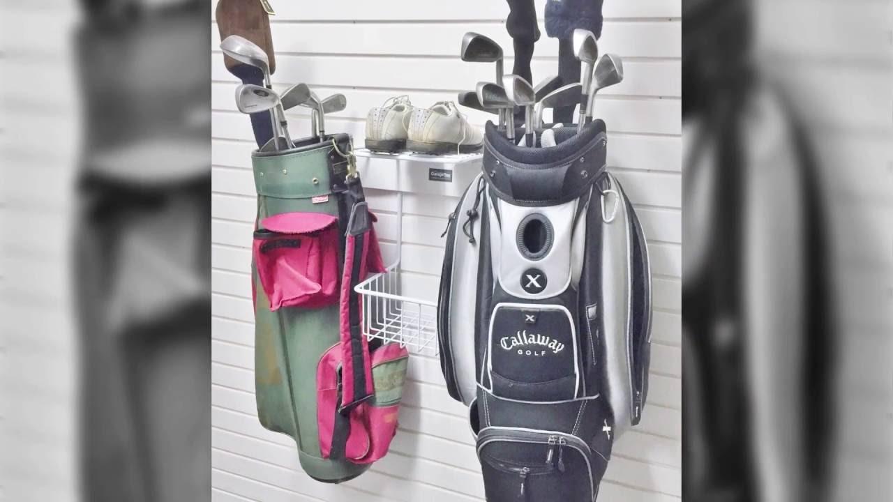 Garageflex Double Golf Rack   Golf Storage For Your Garage