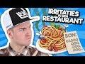 10 Irritaties In Een Restaurant!