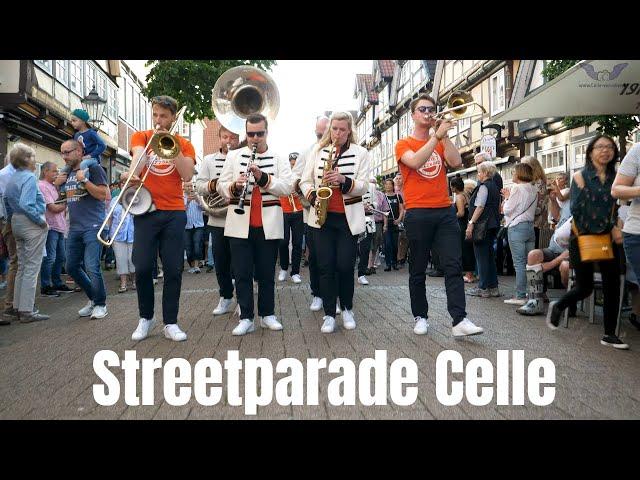 Streetparade in Celle - Jazzmusik in der historischen Altstadt