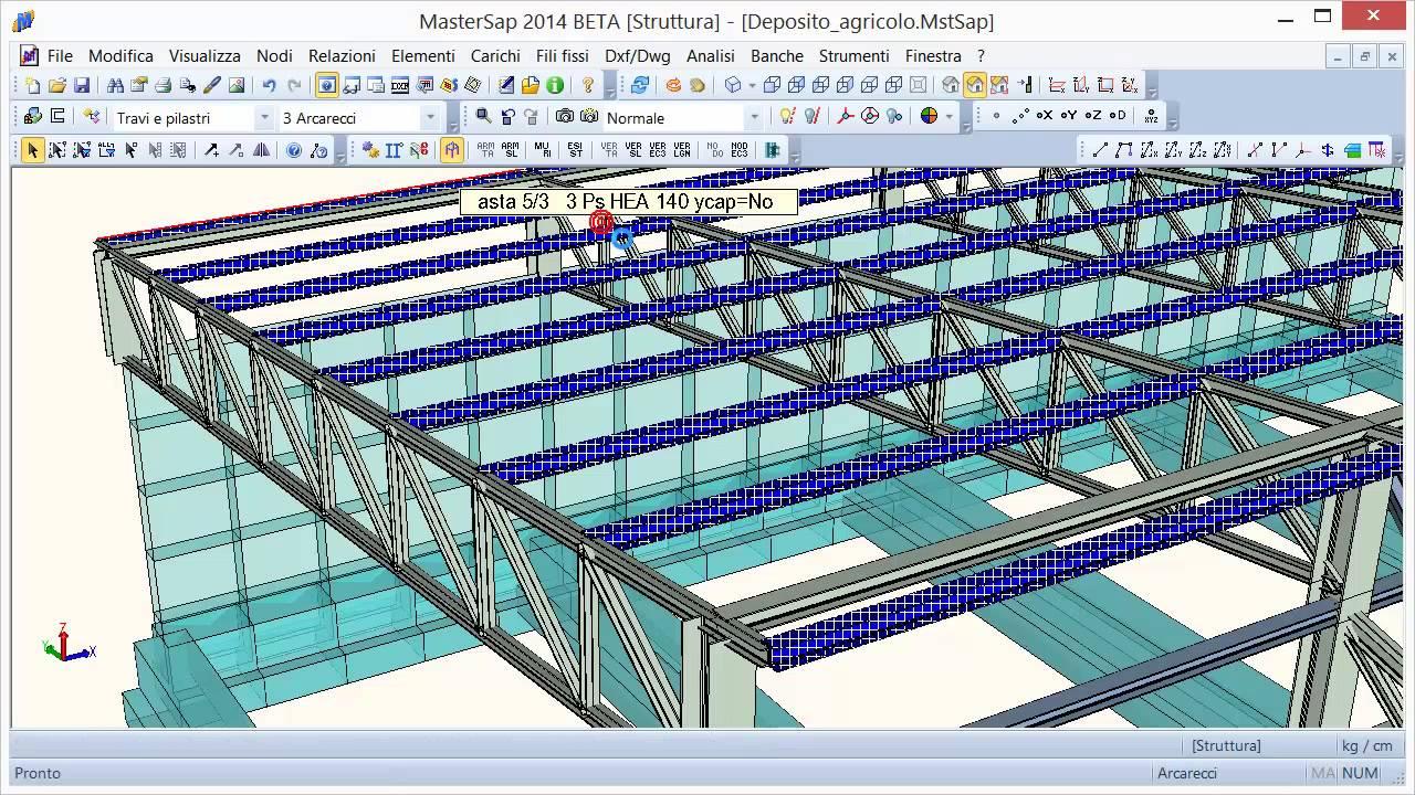 Disegno acciaio 3d le modifiche al modello e l 39 effetto for Disegno 3d free