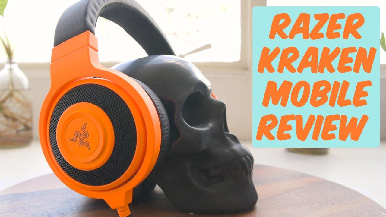 75eb9e2808e Razer Kraken Mobile Review - YouTube