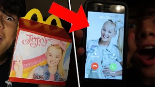 JOJO SIWA SENT ME A HAPPY MEAL!! *HOW TO GET A JOJO SIWA HAPPY MEAL*