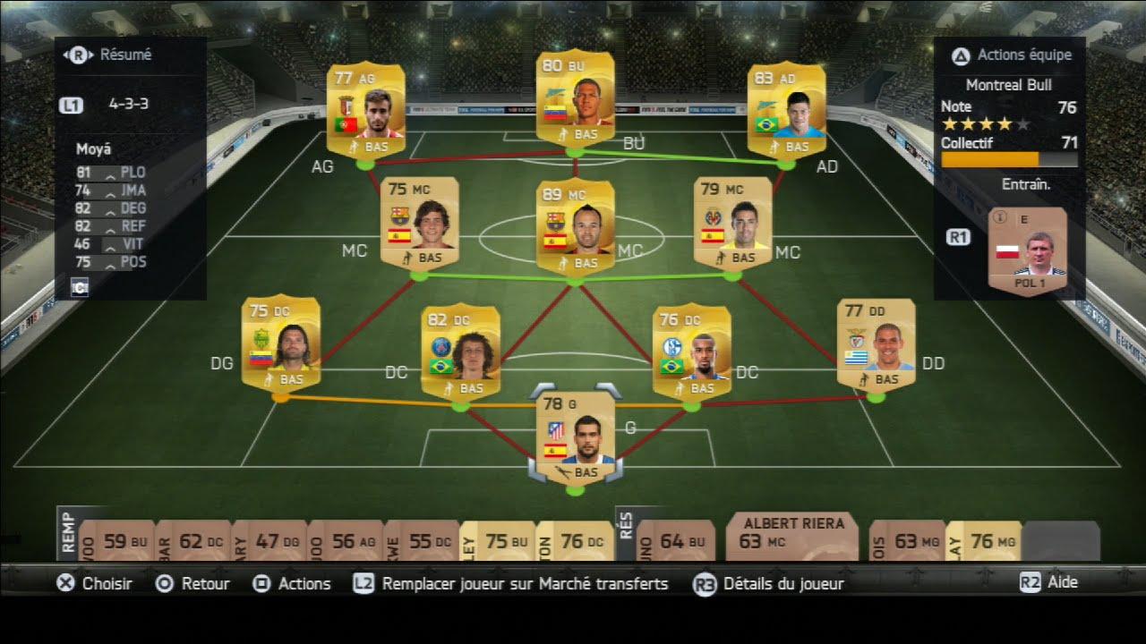 Découverte de Ultimate Team sur Fifa 15 Ouverture de 15 Packs