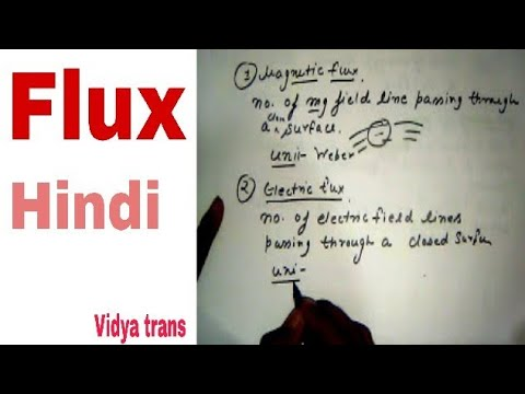 Flux in (Hindi)