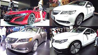 Лучший 2016, 2017 Acura Седаны: NSX, ILX, TLX, RLX, сравнение моделей