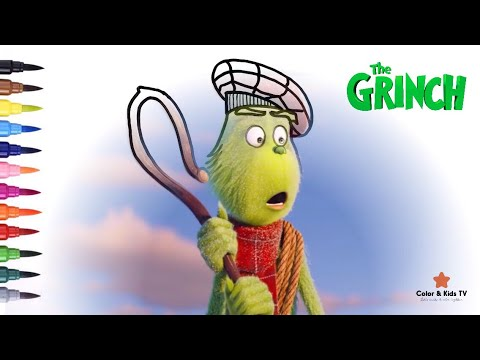 The Grinch   #2 Coloring page for children   Color & Kids ...