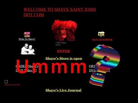 Exploring creepy website Shaye Saint John