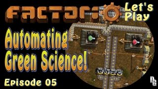 Factorio Letu0027s Play ▻ Episode 5 ▻ Gre.