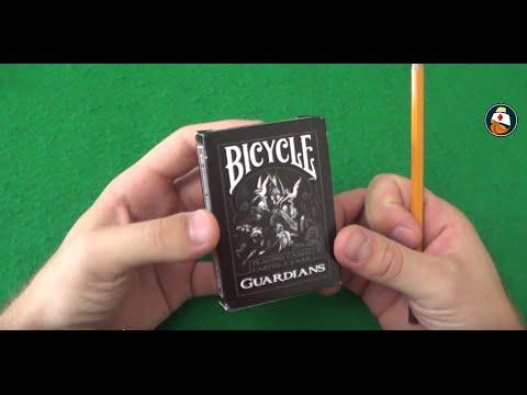 Обзор колоды карт Bicycle Guardians. Где купить карты для фокусов. Playing Card Deck Review