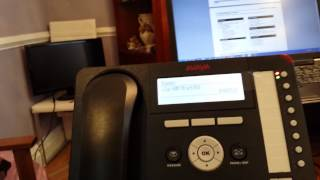 Avaya IP office using Non Visual mail embedded voicemail