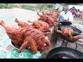 FULL CHICKEN FRY Prepared my DADDY in my Village / Village food factory