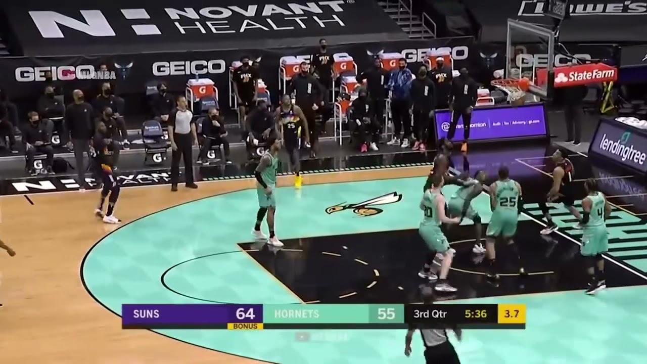 Download Charlotte Hornets vs Phoenix Suns - Full Game Highlights | March 28 2021 NBA SEASON