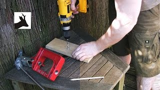 Attaching Lee Loading Press - Portable Reloading Bench