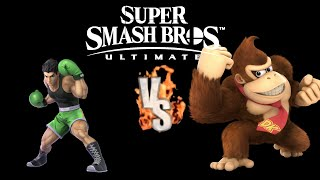SSBU Little Mac VS Donkey Kong