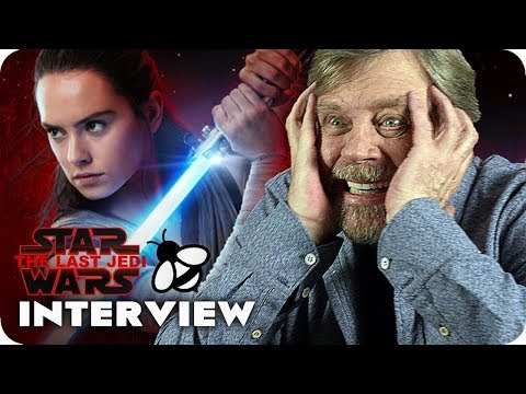 Star Wars 8 Interview: Lonely Luke's Time on the Island! (2017) The Last Jedi Mark Hamill