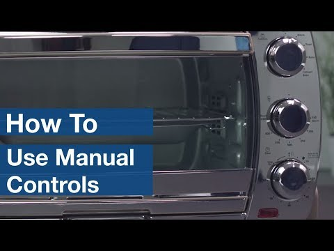 How To Use Manual Controls on Countertop Ovens | Oster®