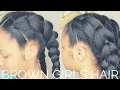 Fake Cornrows Hairstyle | Natural Hair Girls