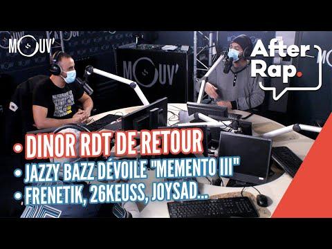 """Dinor RDT de retour avec un 2ème album, Jazzy Bazz dévoile """"Memento III"""", Frenetik, 26Keuss..."""
