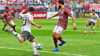 Flamengo X Corinthians: Pro Evolution Soccer 2019 (PES 2019) - Playstation 4 Gameplay