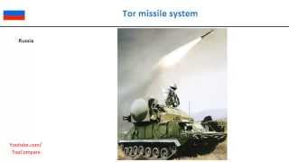 Tor missile system, guided land air missiles specs