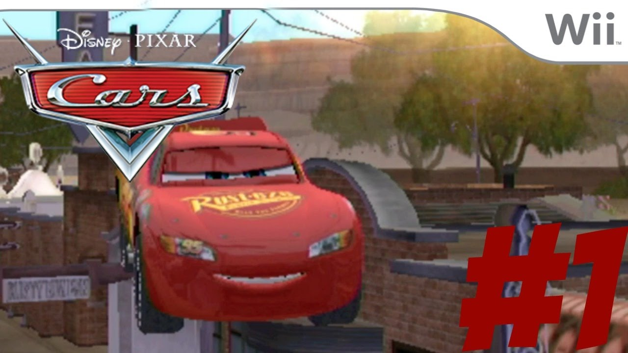 Cars The Videogame Part 1 Wii Zooming Through The Air Like Mj