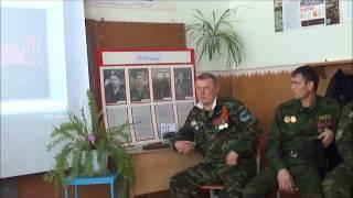 Встреча с участниками чеченской войны