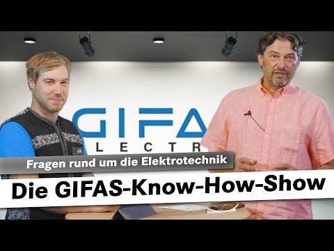 Die GIFAS-Know-How-Show | Fragen rund um die Elektrotechnik 2.0