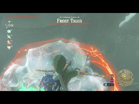 Field Boss | Frost Talus - The Legend of Zelda: Breath of the Wild