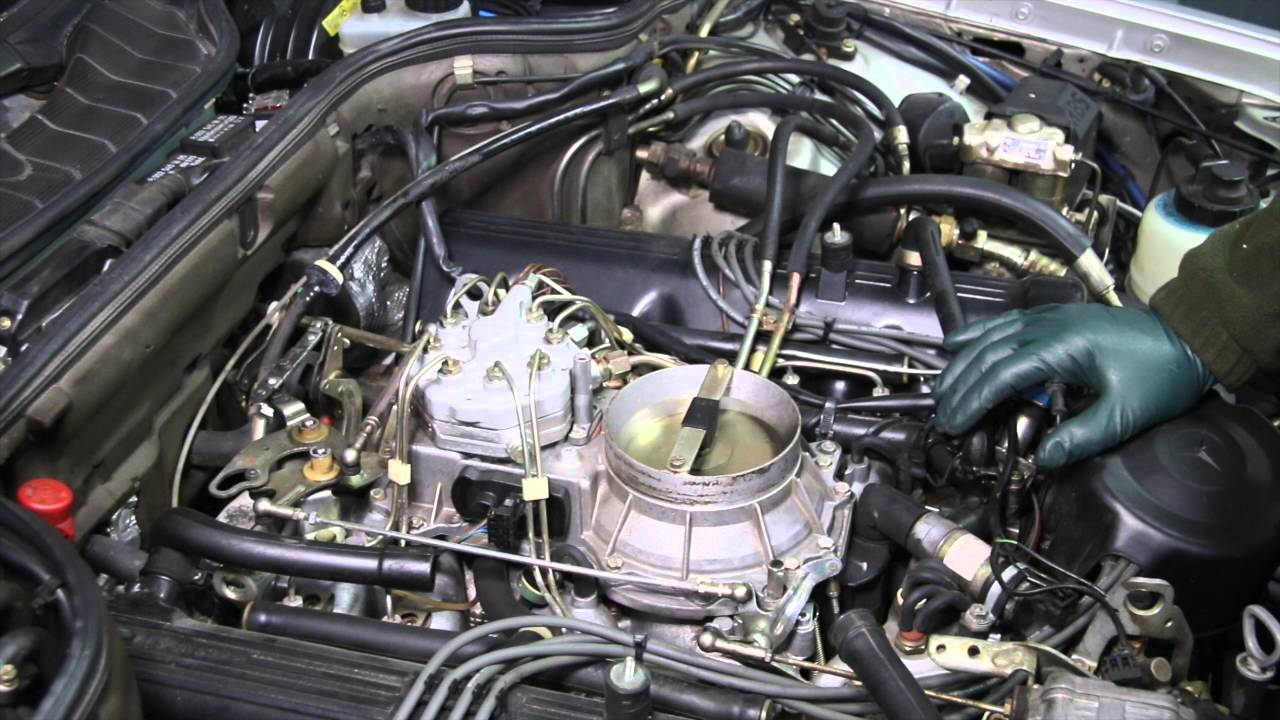 Living With A Legend Mercedes 560sec Extreme Engine