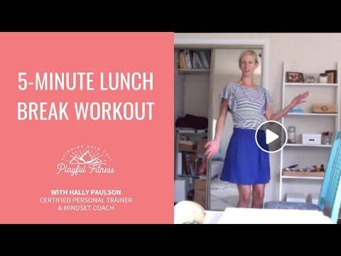 5-Minute Lunch Break Workout
