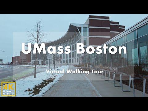 University of Massachusetts Boston (UMass Boston) - Virtual Walking Tour [4k 60fps]