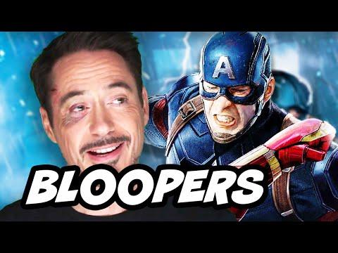 Captain America Civil War Bloopers