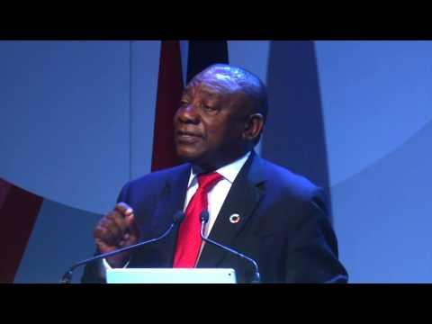 GEC 2017 Johannesburg Deputy President Cyril Ramaphosa Keynote