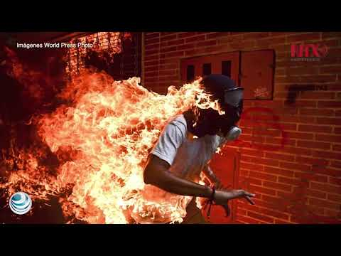 "La imagen titulada ""Crisis de Venezuela"" gana el World Press Photo 2018"
