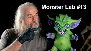 MONSTER LAB #13: Gremlin! Sculpt, Two Piece Mold, sfx, & Paint