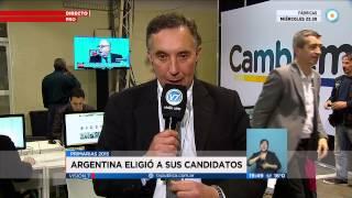 Visión 7 - Primarias 2015: Argentina eligió a sus candidatos