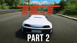 THE GRAND TOUR GAME Gameplay Walkthrough Part 2 - SEASON 2 (Hammond Crash)