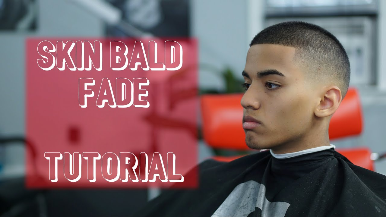Crew Cut   Short Menu0027s Skin Bald Fade Hair Tutorial   (Showcase)   YouTube
