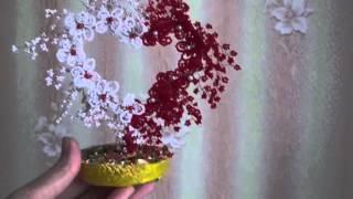 видео Дерево любви из бисера: своими руками! В форме сердца!