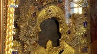 Феодоровская Икона Божьей Матери прибыла в Алматы