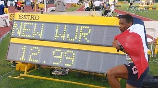Wilhem Belocian set junior hurdles record - Universal Sports