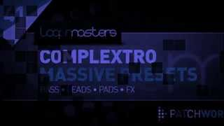 Complextro Massive Presets - Royalty Free Native Instruments Massive Presets