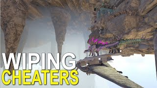RAIDING HIDDEN CHEATERS IN ARK - Official Small Tribe Servers - Ark: Survival Evolved - Ep.27