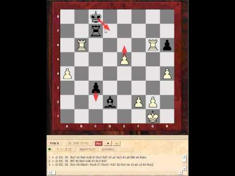 Blitz Chess swindle?! - Pavel Eljanov vs Levon Aronian - Tricky Endgame (Chessworld.net)