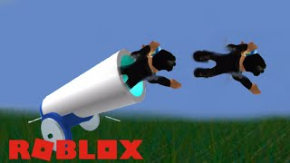 Getting Shot Out Of A Cannon (Roblox Broken Bones 3