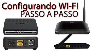 Como Configurar Roteador DLink Wireless DIR 610 + Modem DSL 2500E da Velox - Passo a Passo