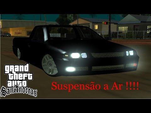 GTA San Andreas Hungria Provavelmente + Rolê De Volkswagem Saveiro G3 Suspensão A Ar + Grave